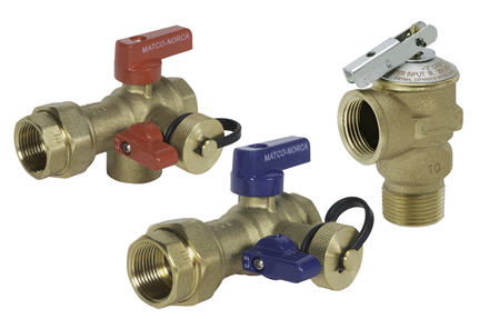 Image of Tankless Water Heater Isolation Valve Kit