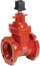 200mw Mechanical Joint Cast Iron Gate Valve Awwa Certified