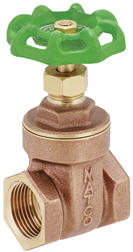 Lead Free Male Flare OCSParts MTLB-4F 1//4-4 Brass Ball Valve Pack of4