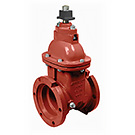 Image of 100M Mechanical Joint Cast Iron Gate Valve