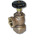 Image of BCV Radiator Supply Convector Valve - Bronze