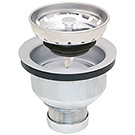 Image of SS-145 - Stainless Steel, Deep Double Cup With Rubber Stopper