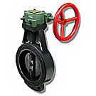 Image of B1-RWG Wafer Style Butterfly Valve - Gear Operator