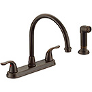 Image of Two Handle Kitchen Faucet BL-260ORB