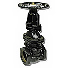 Image of 105S Threaded Cast Iron Gate Valve- OS&Y, Rising Stem