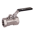 Image of 15SSTH Stainless Steel Threaded Ball Valve - One Piece