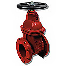 Image of 100W Flanged Cast Iron Gate Valve- AWWA Certified