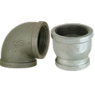 Image of 150# Black & Galvanized Malleable Iron Pipe Fittings