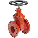Image of 200WW Flanged Ductile Iron Gate Valve- AWWA Certified