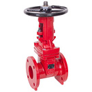 Image of 205UCNY UL/FM Flanged Ductile Iron Gate Valve - OS&Y - Chicago / NYC Body Spec