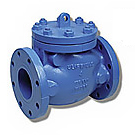 Image of 120U UL/FM Cast Iron Flanged Check Valve