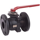 Image of 20CSFLD Carbon Steel Flanged Ball Valve - Two Piece