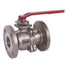 Image of 20SSFLD Stainless Steel Flanged Ball Valve - Two Piece