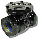 Image of 115S Cast Iron Threaded Check Valve - IBBM