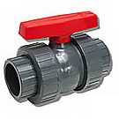 Image of 772ST PVC Ball Valve- True Union - Solvent & Threaded