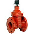 Image of 200WDN Ductile Iron Flanged Gate Valve with Operating Nut