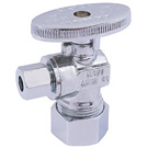 "Image of 26-1017LF Lead Free 1/4 Turn Supply Valve 5/8"" OD Compression x 1/4"" OD Compression"