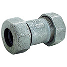 Image of 440 Malleable Compression Coupling - Galvanized