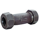 Image of 448 Malleable Compression Coupling - Black
