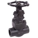 Image of 500FCW Forged Carbon Steel Gate Valve - Socket Weld