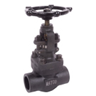 Image of 505FCW Forged Carbon Steel Globe Valve - Socket Weld
