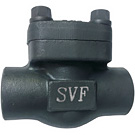 Image of 520FCT Forged Carbon Steel Swing Check Valve - Threaded
