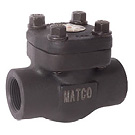 Image of 522FCT Forged Carbon Steel Lift Check Valve - Threaded