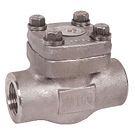 Image of 522FSST Forged Stainless Steel Lift Check Valve - Threaded