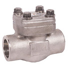 Image of 522FSSW Forged Stainless Lift Steel Check Valve - Socket Weld