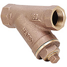 Image of 145LF Lead Free Y Strainer- Bronze, with Brass Plug