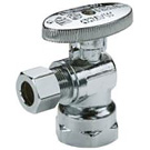 Image of 26-1003LF Lead Free 1/4 Turn  Angle Supply Valve 1/2 FIP X 3/8 OD