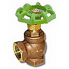 Image of 201ALF Lead Free Brass Angle Stop Valve - Globe Style