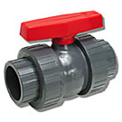 Image of 772 PVC Ball Valve - True Union - Solvent or Threaded