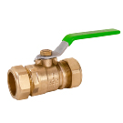 Image of 752CMPLF Lead Free Ball Valve - Standard Port, Forged Brass, Compression Ends