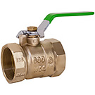 Image of 752NLF Lead Free Ball Valve - Standard Port, Forged Brass, Economy Pattern