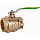 Image of 757LF Lead Free Ball Valve - Full Port, Forged Brass, UL/FM, NSF, CSA Approved