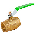 Image of 759LF Lead Free Ball Valve - Full Port, Forged Brass, CSA Certified