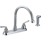 Image of Two Handle Kitchen Faucet PO-240C