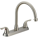 Image of Two Handle Kitchen Faucet BL-250SS