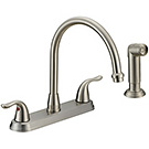 Image of Two Handle Kitchen Faucet BL-260SS