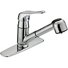 Image of Single Handle Kitchen Pull-Out Faucet CL-150C