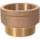 Image of Lead Free Bronze TP Adapters