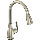 Image of Single Handle Pull-Down Kitchen Faucet BL-151SS