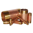 Image of Brass Pipe Nipples - Domestic