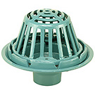 Image of Roof Drain- Bolt Down Gravel Guard & Metal Dome