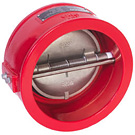 Image of CVCUL Ductile Iron Wafer Style Check Valve - UL Listed