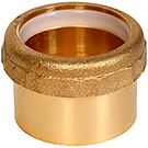 Image of Cast Brass DWV Adapters