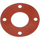 Image of GFF - 150# Full Face Red Rubber Gasket