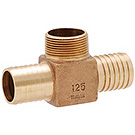 Image of IBHTLF Lead Free Brass Hydrant Tee