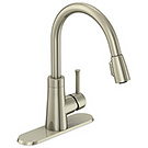 Image of Single Handle Pulldown Kitchen Faucet PD-150SS